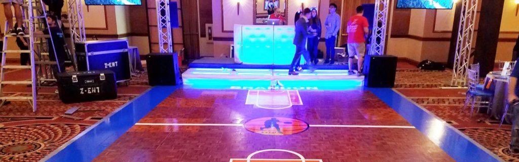 Dance Floor Wrap Wedding Bar Mitzvah Bat Make Old Look New 3